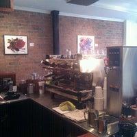 Photo taken at Pourquoi Pas Espresso Bar by Tara H. on 1/28/2012