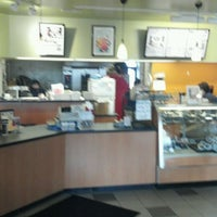 Photo taken at Big Apple Bagels by Angie S. on 2/8/2012