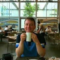 Photo taken at CafeSWISS by Amit K. on 8/19/2012