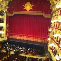 Photo taken at Teatro alla Scala by Andrea P. on 12/7/2011