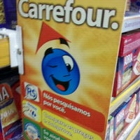 Photo taken at Carrefour by Allan O. on 1/7/2012