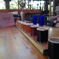Photo taken at Salmon River Brewery by LeRae H. on 8/10/2012