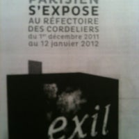 Photo taken at Réfectoire des Cordeliers by Louis G. on 12/15/2011