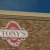 Photo taken at Tony's Market by Kylie A. on 4/22/2012