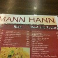 Photo taken at Mann Hann by Migz H. on 7/8/2012