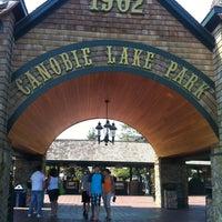 Photo taken at Canobie Lake Park by Luke R. on 8/30/2012