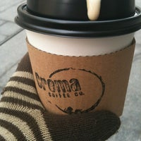 Photo taken at Crema Coffee by laurie D. on 3/2/2012