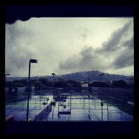 Photo taken at Courtyard Tennis Center by Tomoko J. on 5/8/2012