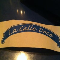 Photo taken at La Calle Doce by German V. on 8/19/2012