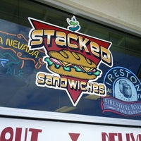 Photo taken at Stacked Sandwiches by James R. on 6/4/2012
