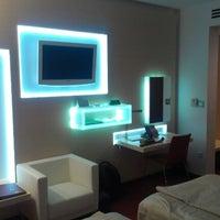 Photo taken at Hotel Habakuk Maribor by Vladimir C. on 8/17/2012