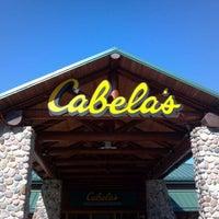 Photo taken at Cabela's by Ryan C. on 5/13/2012