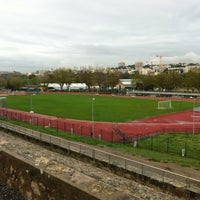 Photo taken at Stade du Fort Carré by Bern G. on 4/5/2012
