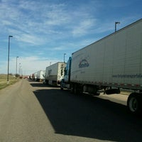 Photo taken at Budweiser Distribution Warehouse by Kenny S. on 3/15/2012