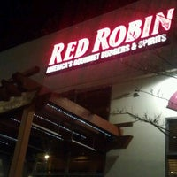 Photo taken at Red Robin Gourmet Burgers by Brian V. on 2/5/2012