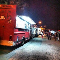 Photo taken at Santa Monica Food Truck Lot by Matt D. on 2/15/2012