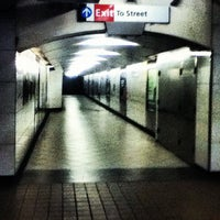 Photo taken at Grove Street PATH Station by OElena N. on 6/26/2012