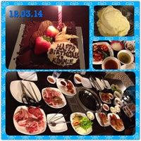Photo taken at Blue Garden Korean BBQ Restaurant by Kimmie T. on 3/13/2014
