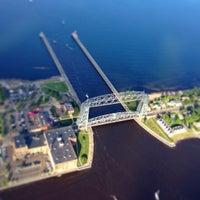 Photo taken at Duluth Lift Bridge by Seth on 7/24/2013
