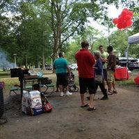 Photo taken at Eisenhower Park Field 2 by Helen P. on 6/27/2014