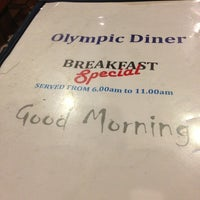 Photo taken at Olympic Diner by Dennis Y. on 5/19/2013