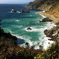Photo taken at Pfeiffer Big Sur State Park by Adam L. on 2/9/2013
