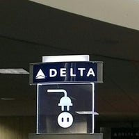 Photo taken at Delta Sky Club by Roman N. on 11/6/2012
