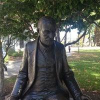 Photo taken at Clark University- Jonas Clark by Neil G. on 10/19/2013