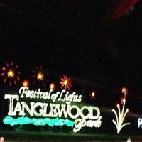 Photo taken at Tanglewood Festival of Lights by Gian U. on 12/20/2012