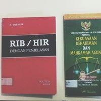 Photo taken at Fakultas Hukum Universitas Pancasila by Risma Y. on 7/23/2013