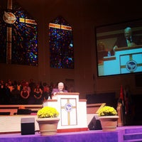 Photo taken at North Cleveland Church of God by Joseph D. on 10/1/2012