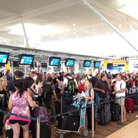 Photo taken at Brisbane International Terminal by Melissa C. on 12/2/2012