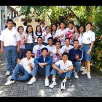 Photo taken at SMAN 1 Denpasar by Erik T. on 5/15/2015