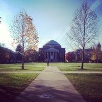 Photo taken at Syracuse University Quad by Katelyn B. on 11/6/2012