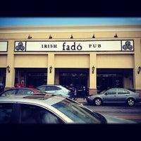 Photo taken at Fado Irish Pub & Restaurant by Katelyn B. on 9/29/2012