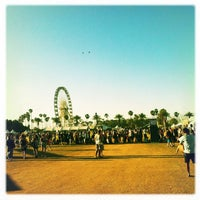 Photo taken at Coachella Main Stage VIP by Standing S. on 4/20/2013