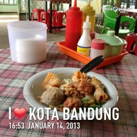 Photo taken at Baso Malang BoM by Rio M. on 1/14/2013