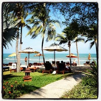 Photo taken at Anantara Hua Hin Resort and Spa by Bongkot P. on 3/27/2013