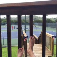Photo taken at Courtyard Tennis Center by Michelle on 6/15/2014
