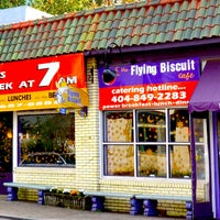 Photo taken at The Flying Biscuit Cafe by Intown Expert, Jennifer Kjellgren & Associates on 1/29/2013