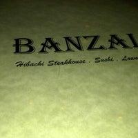 Photo taken at Banzai Hibachi Steakhouse by Vicki on 2/10/2013