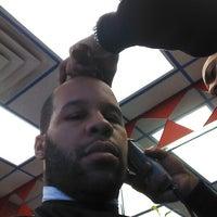Photo taken at La Roca's Barber Shop by Marvin J. on 1/26/2013