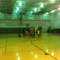 Photo taken at Middle School Gym by Timothy C. on 10/3/2012