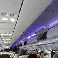 Photo taken at Virgin - Flight VX 413 by Camilo C. on 5/6/2014