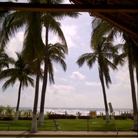 Photo taken at Olas Altas Hotel Surf by Carlos J. on 9/16/2012