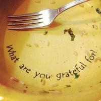 Photo taken at Café Gratitude by Natalie S. on 3/31/2013