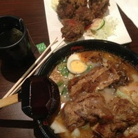 Photo taken at Ajisen Ramen by Riane on 10/3/2013