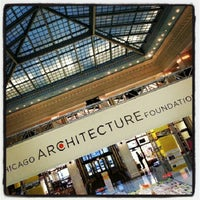 Photo taken at Chicago Architecture Foundation by Ashland T. on 2/13/2013