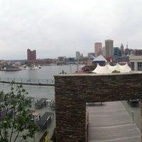 Photo taken at Four Seasons Hotel Baltimore by Chris on 5/27/2013