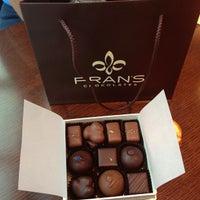Photo taken at Fran's Chocolates by Eddie L. on 9/1/2013